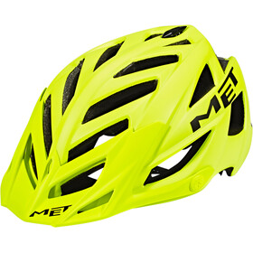MET Terra Casco, matt yellow fluo/black
